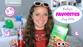 Bailey's Aug 2014 Favorites | Brooklyn and Bailey Thumbnail