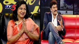 Radhika Very Glad While Chiranjeevi Saying About Her   Radhika Sarathkumar Interview   TV5 News