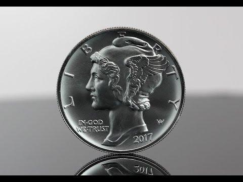 2017 American Palladium Eagle Bullion Coin