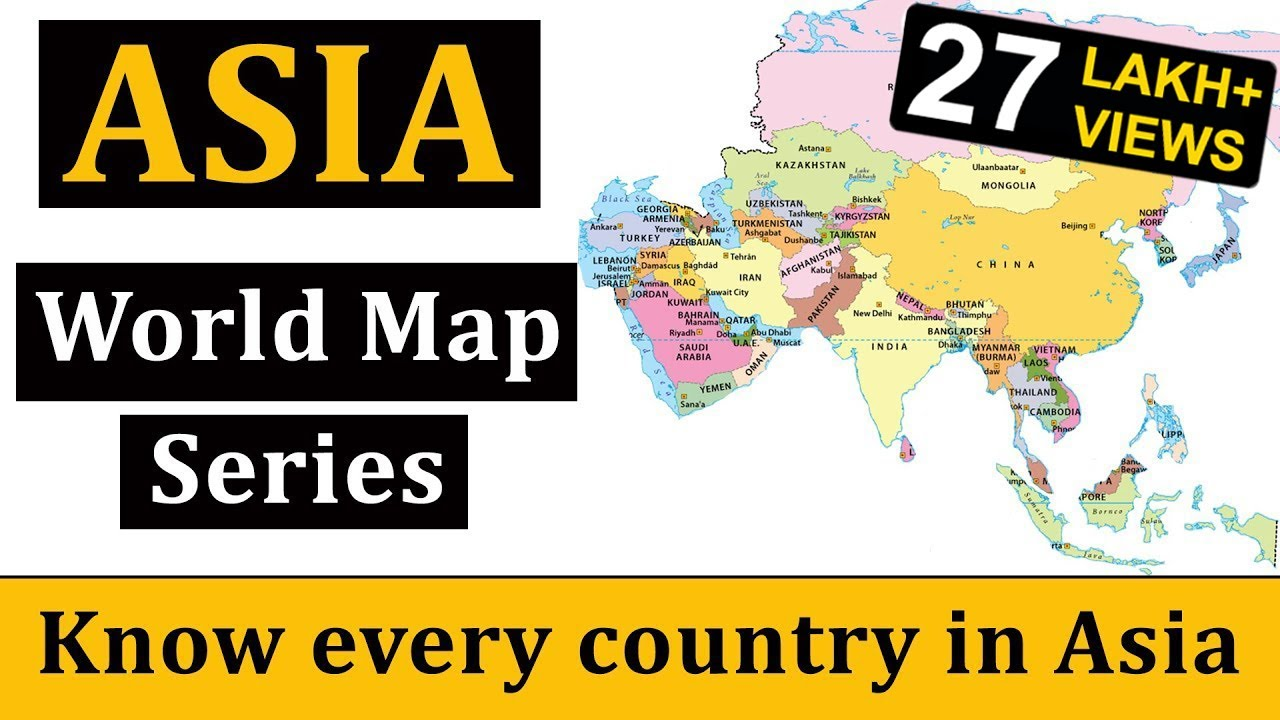 Geography Map Of Asia.Asia Map एश य क म नच त र World Map World