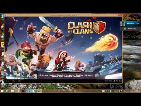 How to play Clash Of Clans in your PC and Surface Pro