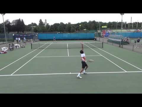Rohan Sikka's tennis video