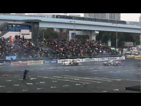 Tokyo Drift in Odaiba 2010 0328 Orido Manabu vs Nomura Ken 2
