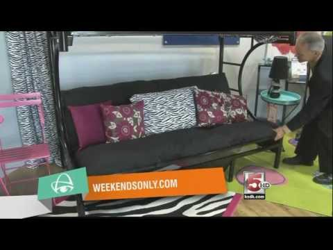 Weekends Only Furniture Outlet In St Louis Futon Bunk