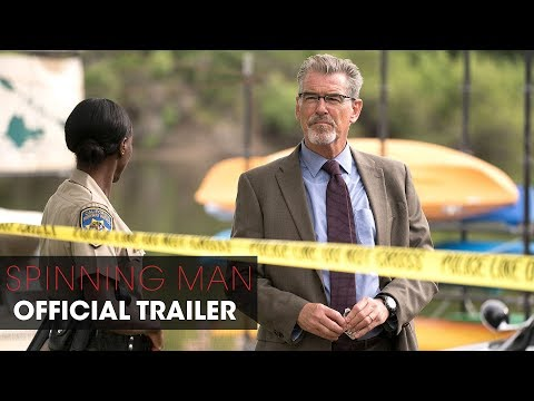 Spinning Man 2018 Movie –   –  Pierce Brosnan, Guy Pearce, Minnie Driver