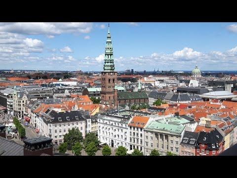 Video 02 10. juni 2016 København - Christiansborg (Tårnet), Udsigt fra tårnet