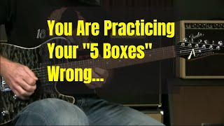 [Live] You're Learning Your Blues Boxes Wrong (Not Really... But There's A Better Approach.)