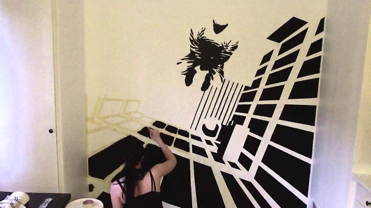 Sin city frank miller wall painting youtube A wall painting