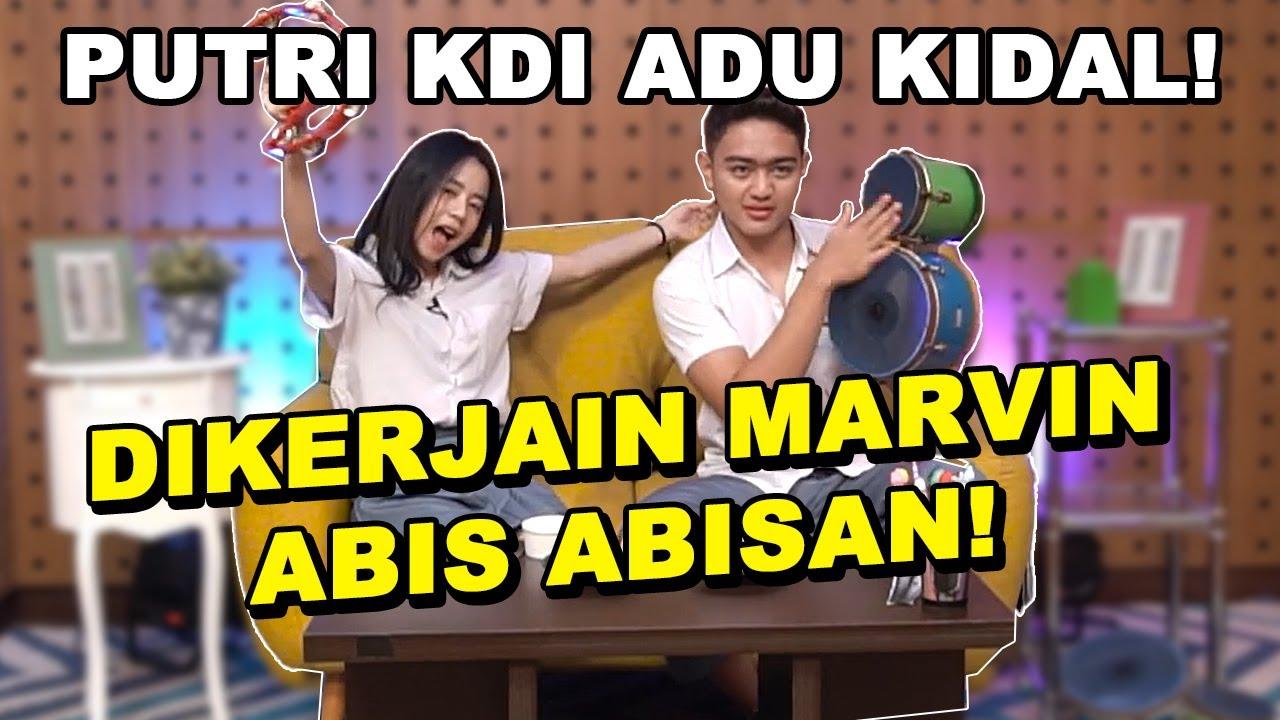 PUTRI KDI ADU KIDAL! MALAH DI KERJAIN MARVIN ABIS ABISAN! - SEKOLAH DANGDUT INDONESIA