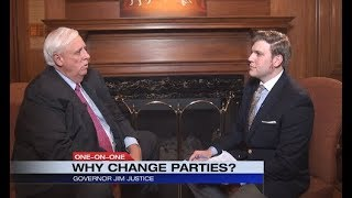 Dan Thorn: WV Governor Jim Justice Switches Parties (Interview)