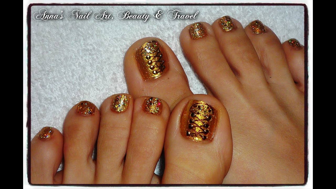 studded gold vans shoes toe nail