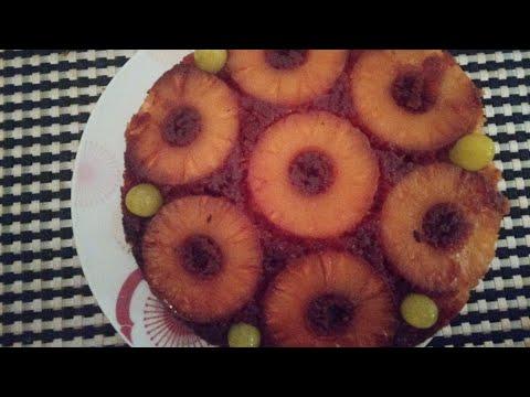 recette-délicieuse-gâteau-annanas-au-caramel