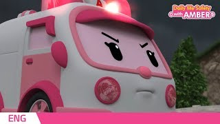AMBER | EP 02| Robocar POLİ | Çocuk animasyon ile   günlük yaşam Güvenliği