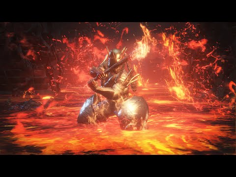 Is it possible to LIVE in LAVA? - The HOTTEST Dark Souls 3 Data