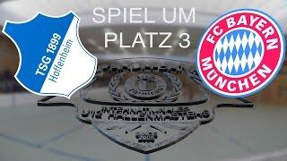 Spiel um Platz 3: TSG 1899 Hoffenheim - FC Bayern München 3:0 / U12 Hallenmasters TuS Traunreut 2016