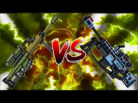 Pixel Gun 3D - Heavy Sniper Rifle VS Overseer