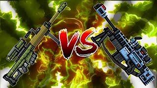 Pixel Gun 3D - Heavy Sniper Rifle VS Overseer