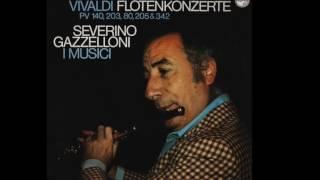 """A. Vivaldi """"Il Cardellino"""" op. 10 n.3 - Severino Gazzelloni I Musici"""