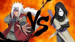 Jiraiya vs Orochimaru / Sapo come cobra e toma picada na barriga / snakebite thumbnail