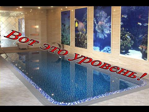 Крутая современная баня с бассейном - обзор законченного объекта и наш сервис!