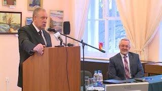 Губернатор Сергей Митин встретился со студентами Новгородского государственного университ