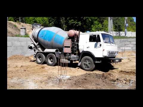 Доставка бетона на обект