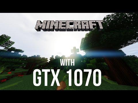 Minecraft - [Geforce GTX 1070] [FRAME-RATE TEST]  [4K]