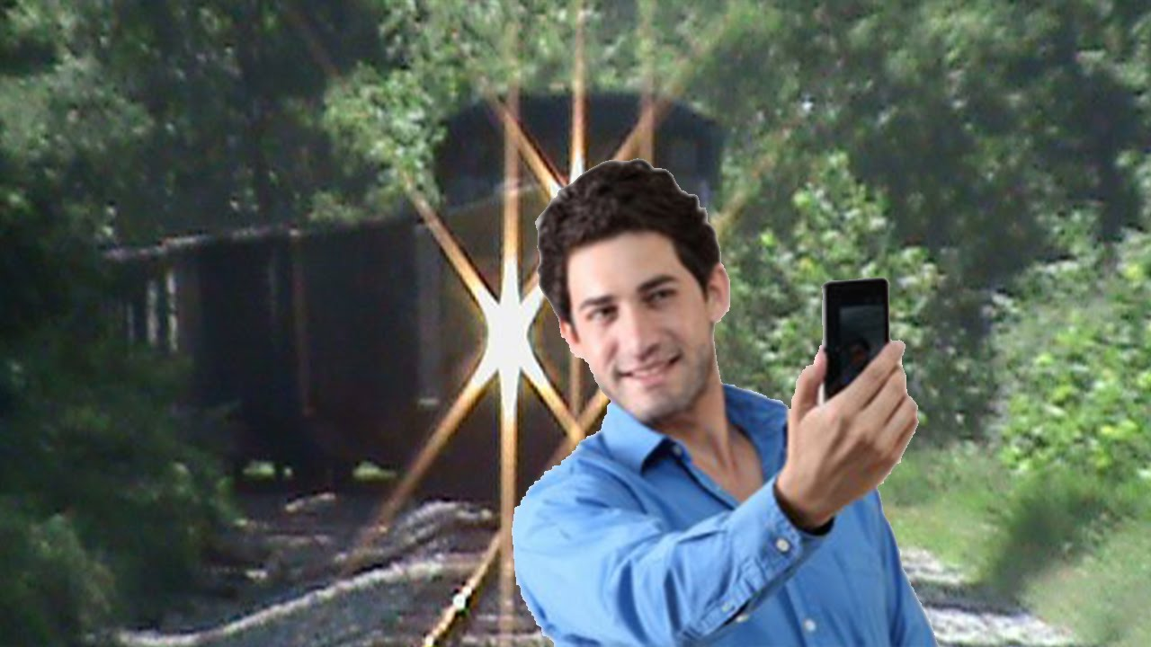Image result for selfies Train track