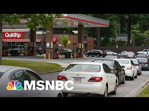 Gas Supply Panic Sets In As Effects Of Pipeline Hack Drag On   MSNBC
