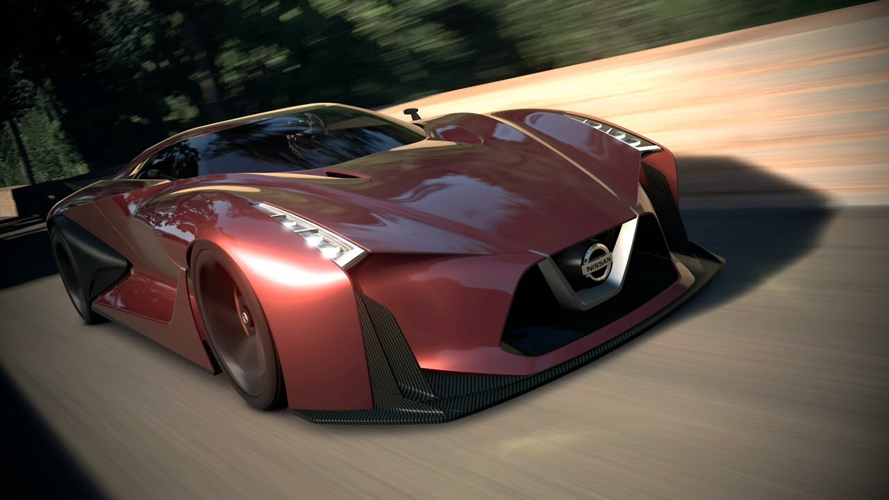 NISSAN CONCEPT 2020 Vision Gran Turismo: TMS 2015 - YouTube