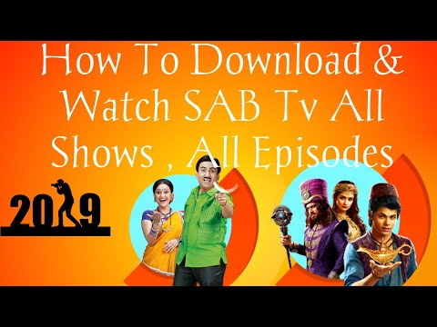 How To Download & Watch SAB Tv All Shows , All Episodes (2019) Trick By__(ADX Tech)