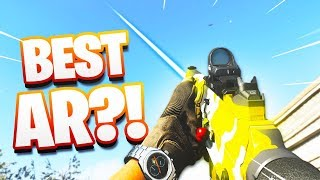 THE NEW BEST AR IN MODERN WARFARE?! (NEW DLC ASSAULT RIFLE)