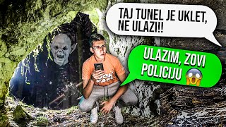 NAJSTRAŠNIJE PORUKE IKAD POSLATE!! - UKLETI TUNEL!!