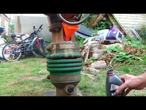 Wacker BS60y Running And Oil Change How To YouTube