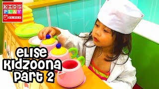The Farmer in the Dell - Elise at Kidzoonia Part 2 | Playtime with Elise Vlog | Kids Play O'Clock
