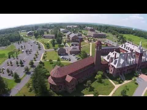 August Aerials - Mount Aloysius College