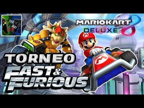 TORNEO FAST AND FURIOUS! - MARIO KART 8 DELUXE ►NINTENDO SWITCH◄ thumbnail