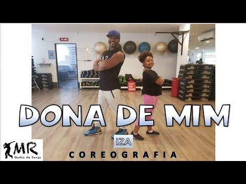 DONA DE MIM - IZA - Coreografia Mauricio Rubão