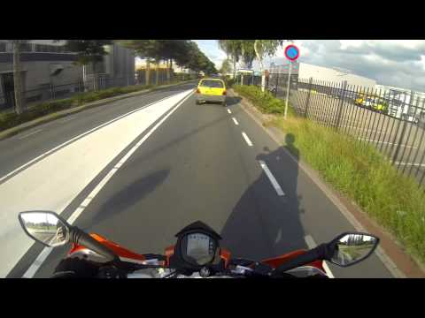 Motor rijles 9 [A1] Motor Rijschool Karin Aalhuizen [GoPro Hero 3 Black]
