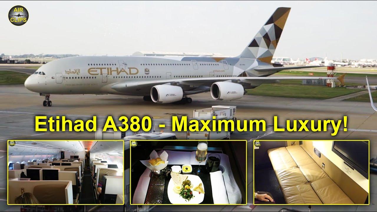 Etihad A380: Business Class, First Class APARTMENT ...