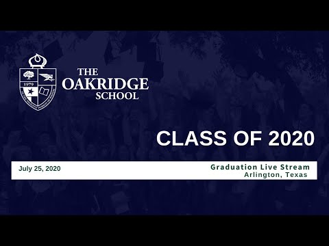 The Oakridge School 2020 Commencement