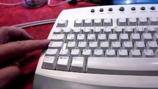 Bastelprojekt Tastatur Mode, Textbaustein schreiben per Caps Lock Taste