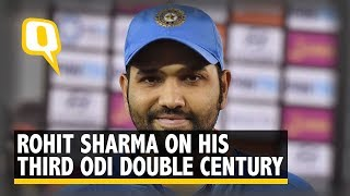 '2017 Is My Best Year': Rohit Sharma on His 3rd ODI Double Century | The Quint