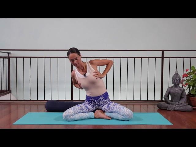 Gibljivost prsnega dela hrbtenice, prsnega koša, odpiranje srca
