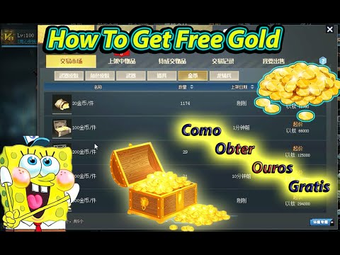 Blood Strike : How To Get Free Gold : Como Obter Ouro Gratis ! Bs Chinese