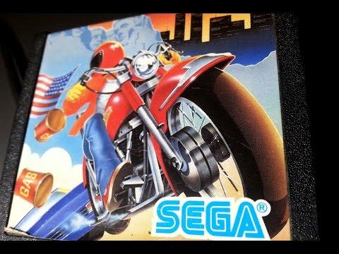 Classic Game Room - ZIPPY RACE Review For Sega SG-1000