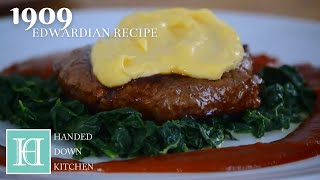 Filets de Boeuf a la Béarnaise ◆ An Edwardian Recipe