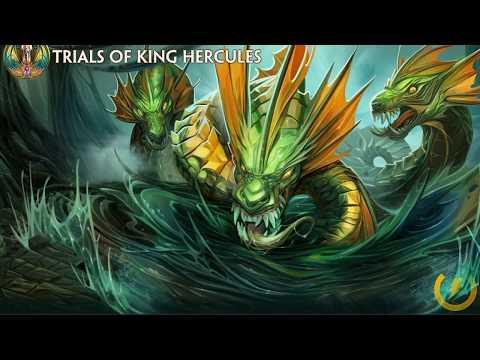 SMITE PATCH 4.10 WINNING THE TRIALS OF KING HERCULES WITH ELIMINATOR RAVANA