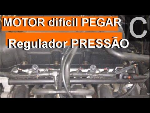 Dr CARRO Motor difícil de pegar e o Regulador de pressão