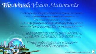 How to write Vision Statements